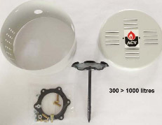 Kit de brida DN110 + seco LCA300> 1000